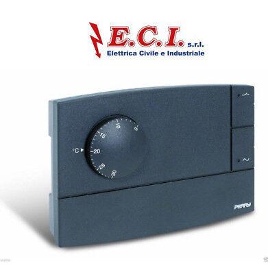 """Perry 1TP TE565B  Termostato elettronico per Fan-Coil serie """"ZEFIRO"""""""