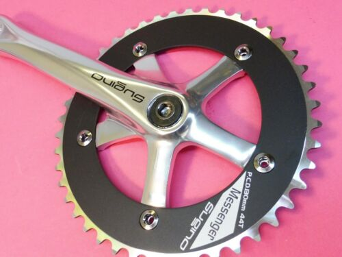 Sugino Messenger 165mm// 44T track bicycle chainset NOS