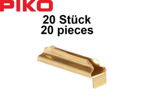Piko G 35290 Metall-Schienenverbinder 20 Stück - NEU OVP