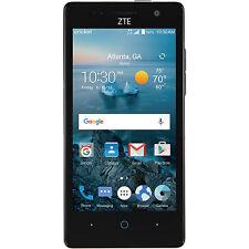 New ZTE Fanfare 2 8GB 4G LTE (Cricket Wireless) GSM Unlocked Black Smartphone