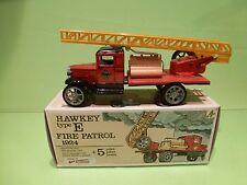 KOVAP HAWKEY TYPE E FIRE PATROL 1924 LADDER TRUCK - RED - VERY GOOD IN BOX
