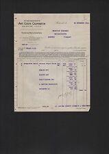 LACANCHE, Rechnung 1926, Etablissements Ant. Coste-Caumartin
