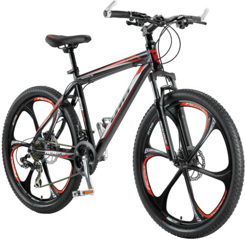 Bicycle-Mountain-Bike-26-034-GT-Aluminium-MTB-21-Shimano-Disc-Brake-Sparkle-Zoom-Stem