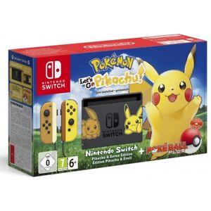 Nintendo Switch Edicion Limitada Pokemon Let S Go Pikachu Juego