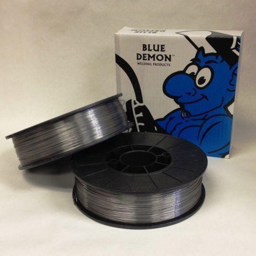 E71T-GS .035 Gasless Flux Core 10 Lb 2 Pack Welding Wire Spools Blue Demon USA