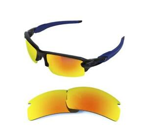 790d19171 NEW POLARIZED REPLACEMENT FIRE RED LENS FOR OAKLEY FLAK JACKET 2.0 ...