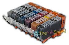 6 Compatible Canon Pixma PGI-525/CLI-526  Ink Cartridges (inc GREY)