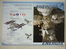2013 DOCUMENT ENERGIA KOROLEV ROCKET SPACE ISS SPACE STATION SOYOUZ ESA ESPACE