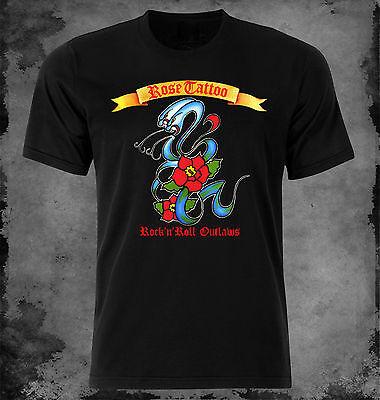 Rose Tattoo - Rock'n'Roll Outlaws t-shirt XS - S - M - L - XL - XXL