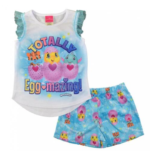 Hatchimals Toddler Girls Two-Piece Pajama Short Set Size 2T 3T 4T