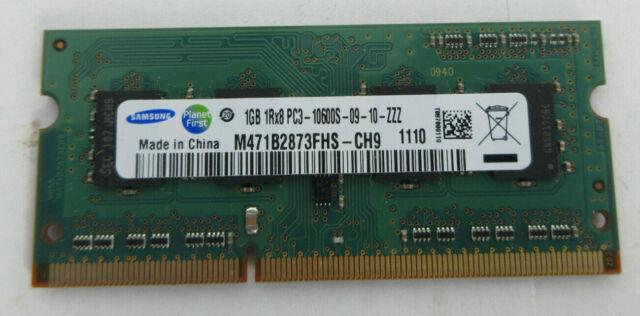 SAMSUNG 1GB M471B2873FHS-CH9 PC3-10600S-09-10-ZZZ Notebook Laptop RAM