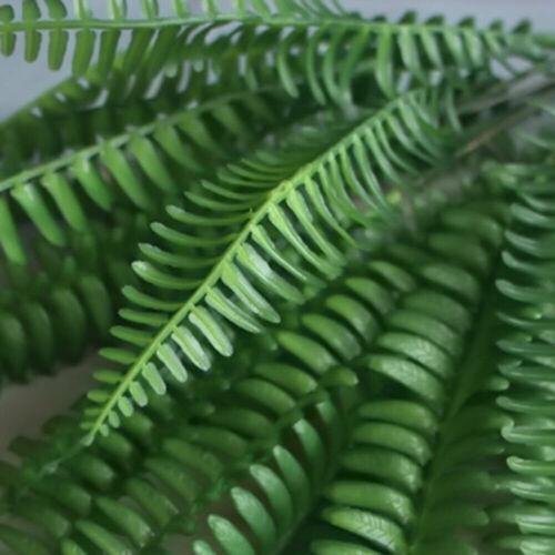 Große Kunststoff lebensechte künstliche Farn Laub Bush Pflanzen Indoor Outdoor
