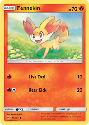 4x Fennekin 25//162 Pokemon TCG card XY BREAKthrough common NM