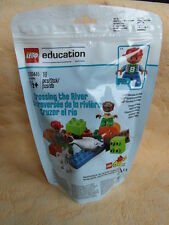 LEGO DUPLO EDUCATION CROSSING THE RIVER 2000445 NEU & OVP TIERE + FIGUREN STEINE
