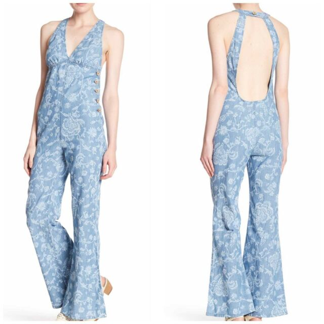 People Jumpsuit Dance All Night Birthday Batik Woman Size 8 Overall
