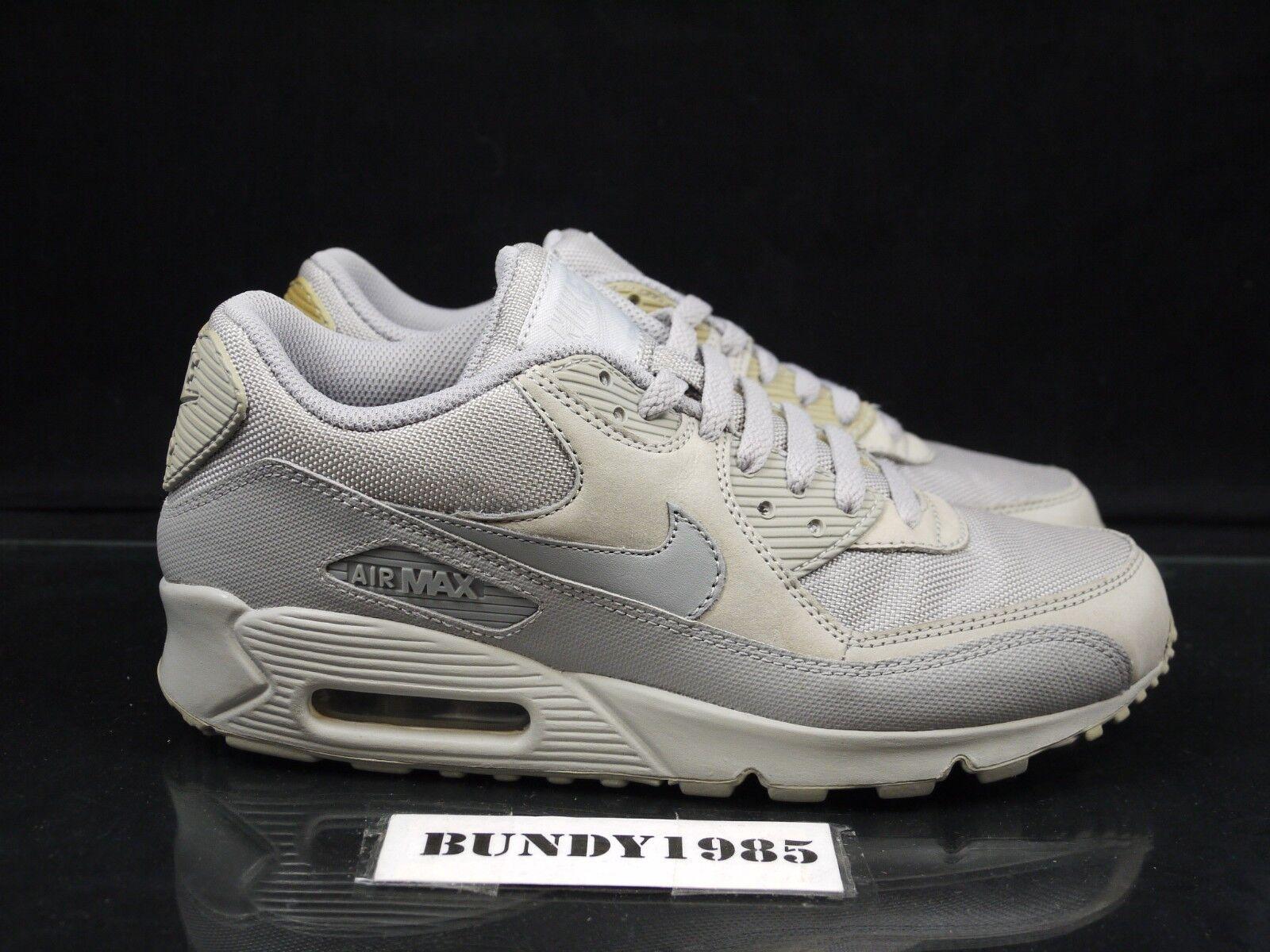 (P) 333888 002 Nike Air Max 90 Medio gris De De De Hombre Talla 8  Obtén lo ultimo