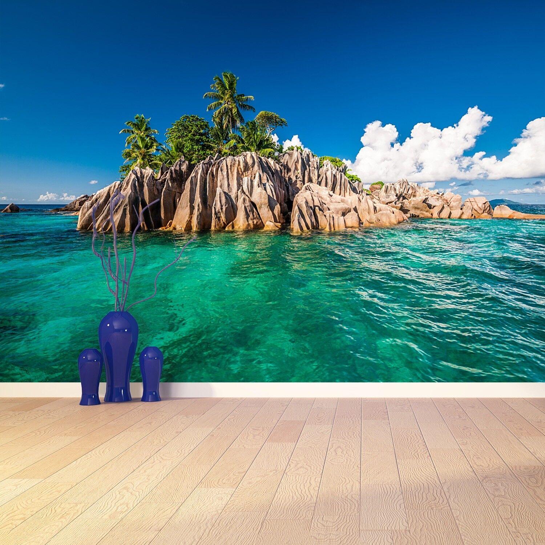 Fototapete Selbstklebend Einfach ablösbar Mehrfach klebbar Sankt-Peter-Insel