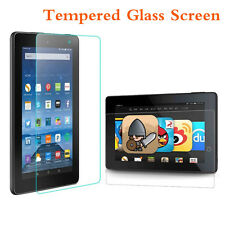 Tempered Glass Screen Protector Flim For Amazon Kindle Fire HD 7 2015 Tablet NEW