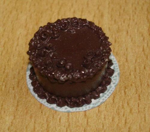 Chocolat Gâteau #3661 poupée 1:12