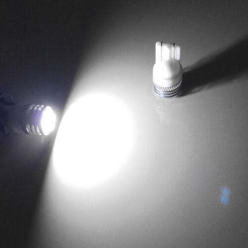 Bright Xenon White T10 Side Under Mirror Puddle Lights 168 2825 W5W SMD LED Bulb