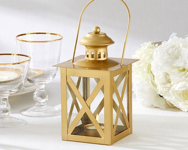12 or Tea Light Candle Lantern engagement 50th Anniversaire Table De Mariage Decor