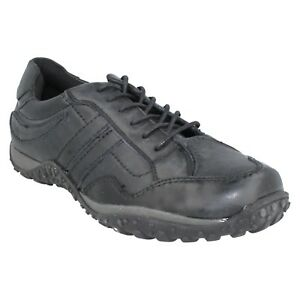 Leather Col Spot Noir A2r013 On Formateur Décontracté Mens Chaussures Rond Rembourré Lace Up LGMVzqSUp