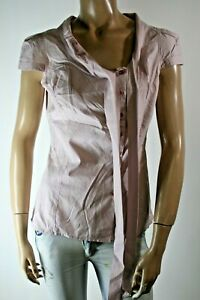 GUESS-JEANS-CAMICIA-SHIRT-DONNA-TG-S-WOMAN-BLOUSE-TEESHIRT-CASUAL-VINTAGE-A1504