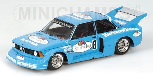 Bmw 320i Fruit Of The The The Loom Drm 1977 P. Schneeberger 1:43 Model MINICHAMPS | Fiable Réputation  63d79b