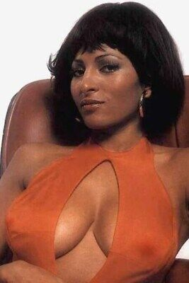 "PAM GRIER 8/"" X 10/"" glossy photo reprint"