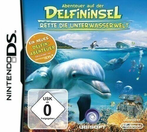 NDS Abenteuer auf der Delfininsel 2 Rette die Unterwasserwelt NUEVO Y CON EL EMB