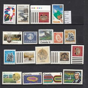 LOT-STAMPS-CANADA-MNH-L25488