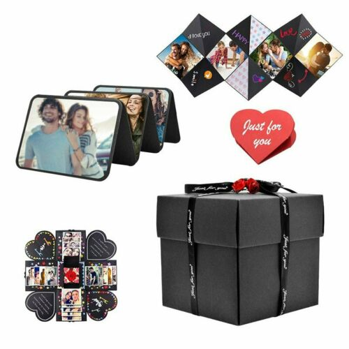 Explosion Surprise Box DIY Scrapbook Handmade Photo Albums with Small Gift Box