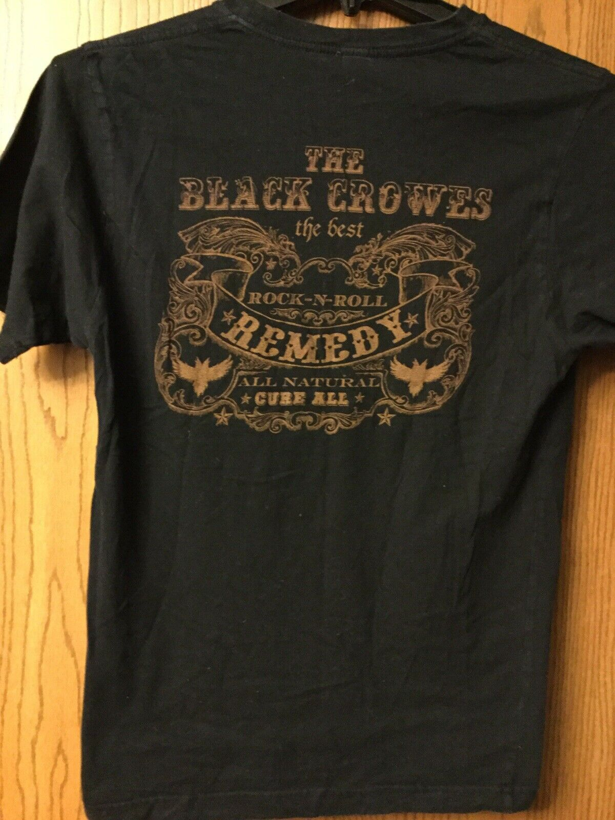 The Black Crowes    Shirt.  Black.   M - image 2