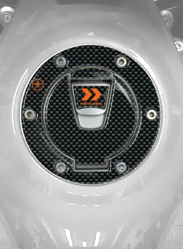 Aufkleber Tankdeckel gel 3D kompatibel für Motorrad KTM keyless elektronisch 17