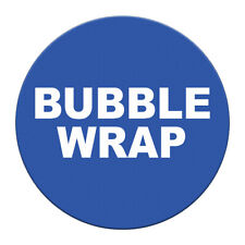 Bubble Wrap Floor Decals Blue Anti Slip Round Shape Signs Stickers