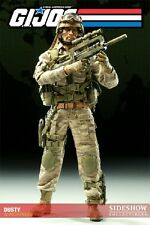 1/6 Scale GI Joe Dusty Exclusive Figure by Sideshow Collectibles Used