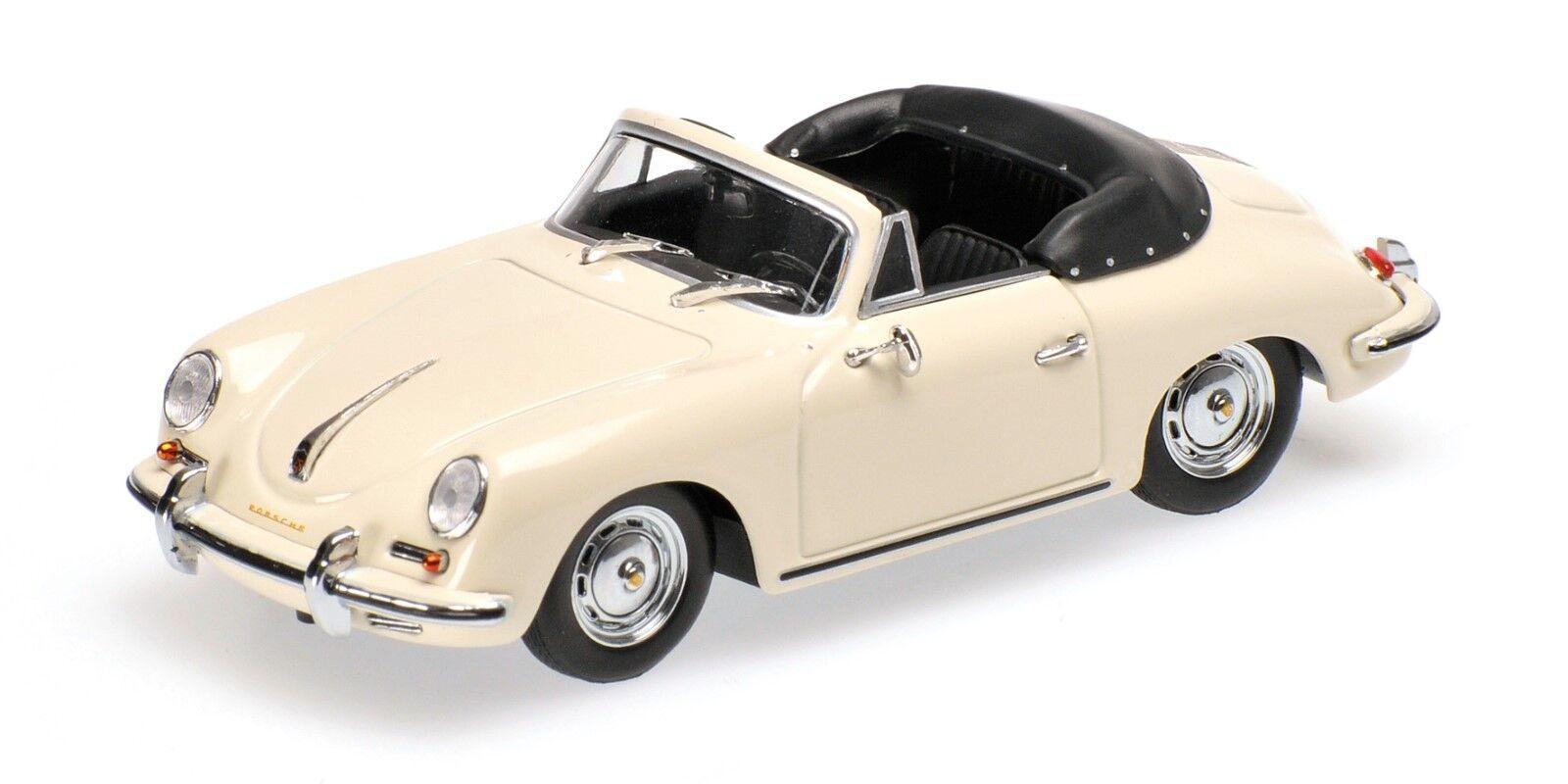 Minichamps  porsche 356 B Cabriolet  1960  OVP  1 43  IVOIRE  berline 252
