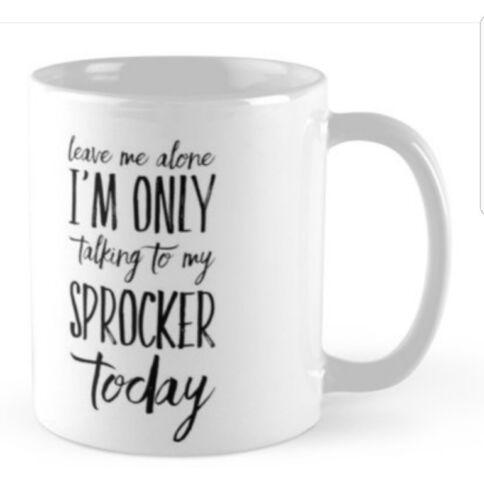 Sprocker Spaniel Mug Ideal gift for any Lover Spaniels.