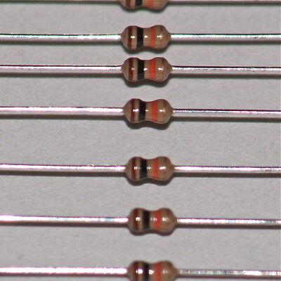50 x Resistors 43K Ohms OHM 1//4W 5/% Carbon Film