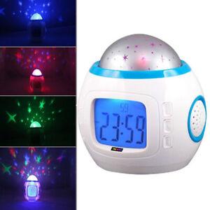 7-Colors-LED-Children-Room-Sky-Star-Night-Light-Projector-Lamp-Alarm-Clock