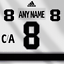 Los-Angeles-Kings-Adidas-White-Jersey-Custom-Any-Name-Any-Number-Lettering-Kit miniature 1