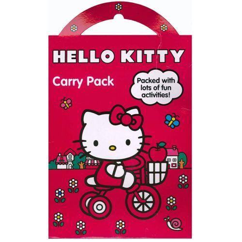 Hello Kitty Kids Fun temps activité transporter jouer Pack enfants STICKERS Poster