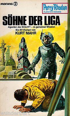 *b- Perry Rhodan Planet Romane Nr. 204 - SÖhne Der Liga - Kurt Mahr Tb (1986)