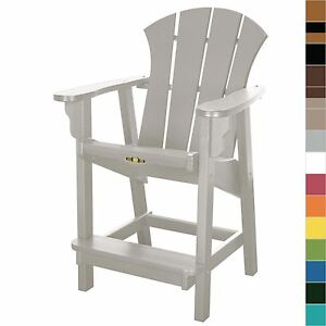 Image Is Loading Pawleys Island Sunrise Counter Dining Chair Poly Durawood