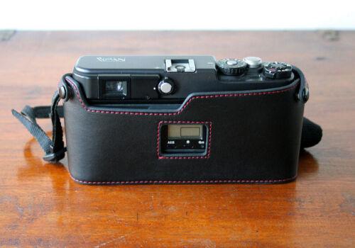 Mr.Zhou Black Red Stitching Half Case for Hasselblad XPan XPan II Fuji TX-1 TX-2