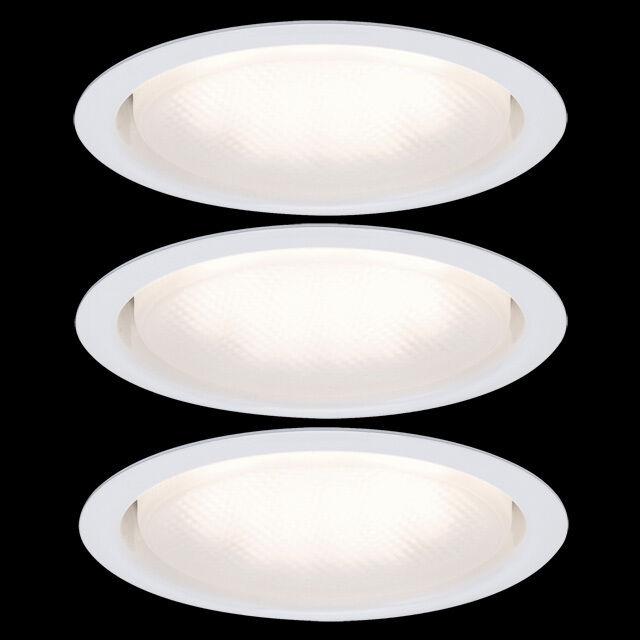 Paulmann 983.42 3x9W Energiesparlampe GX53 Möbel Einbauleuchten WEIß. 230V 98342