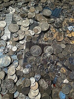 SILVER DOLLAR MORGAN US MINT BULLION OLD COINS DIMES ESTATE SALE INVESTMENT RARE
