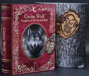 2014 SDCC Mattel Ever After High Doll Cerise Wolf Monster ...