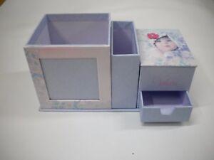 Set Da Scrivania Viola : Porta penne set scrivania valerie viola rosa bambini portagioie