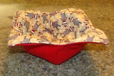 Microwave Bowl Holder Bowl Cozy Bowl Potholder Sock Monkey Bowl Cover